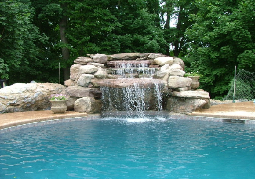 Our Wish List Saving For Your Dream Home Waterfall Pool